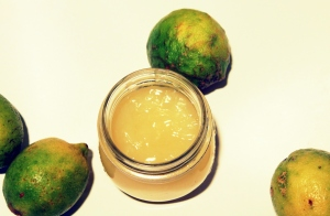 gelatina limone