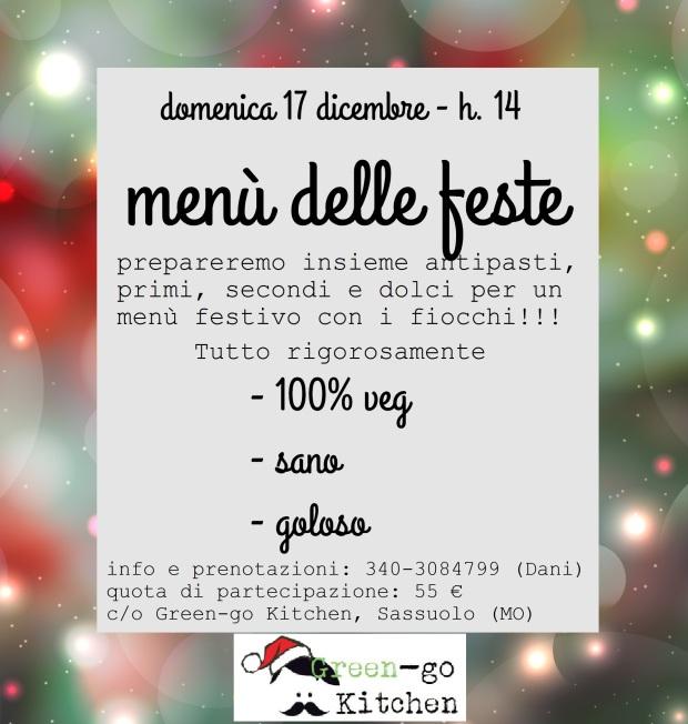 menù feste